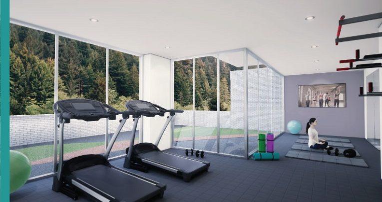Excelentes zonas comunes para hacer ejercicio
