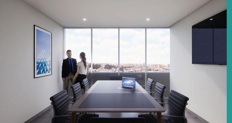 Exclusivas zonas comunes para reuniones de trabajo