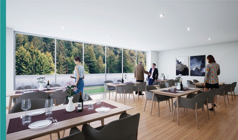 Apartamentos con excelentes zonas comunes