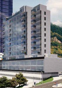 Edificio de apartamentos en el norte de Bogota